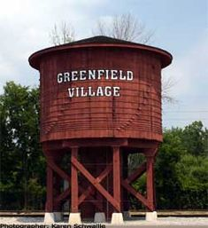 Greenfield Village Water tower