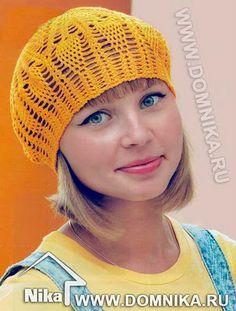 TRICO y CROCHET-madona-mía  Boinas a crochet( ganchillo) con patrones ac589abb7f7