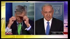 Benjamin Netanyahu Fox News Sunday We Use Missiles to Defend Civilians H... July 2014