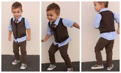 love little vest and sneaks