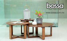 Centra las miradas de tus invitados en el estilo moderno de el Juego de Mesas Saura Nogal. Te invitamos a seguir conociendo más de las opciones de mesas de centro que hemos elegido para decorar tu hogar en: www.bossa.com.mx