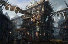 Pub by Jongmin Ahn : ImaginaryTaverns