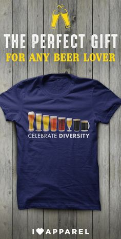Come see our entire selection of shirts for beer lovers. Buy any two items and get free shipping today.
