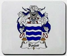 Bagur Family Shield / Coat of Arms Mouse Pad $11.99