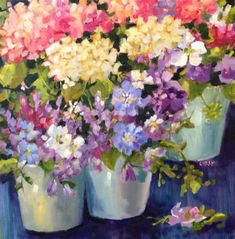 "Daily+Paintworks+-+""Jubilation""+-+Original+Fine+Art+for+Sale+-+©+Libby+Anderson"