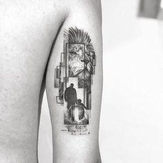 - Obrigado Augusto - - FEV - SP Joao Ch Tattoo APR - MAY -JUN Hamburg - resident vadersdye London - through my third eye tattoo Rome - aureoroma - - - Third Eye Tattoos, Leo Tattoos, Mini Tattoos, Animal Tattoos, Body Art Tattoos, Small Tattoos, Tattoos For Guys, Sleeve Tattoos, Tricep Tattoos