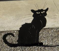 Black cat by Lyudmila on Etsy