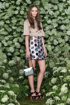 Mulberry Spring 2015 Ready-to-Wear - Collection - Gallery - Look 1 - Style.com