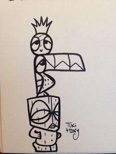 Tiki tOny tattoo
