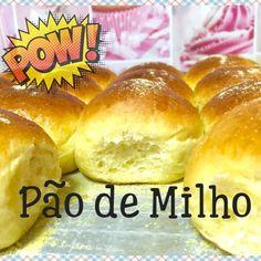 PÃO DE MILHO (SUPER FOFINHO)