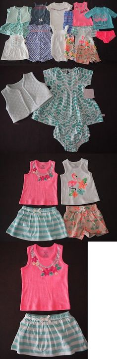 Mixed Items and Lots 147220: New Carters 12 Month Baby Girl Spring Summer Clothing Lot Romper Dress 9 Outfits -> BUY IT NOW ONLY: $79.99 on eBay!