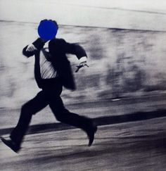 John Baldessari, Man running on ArtStack #john-baldessari #art