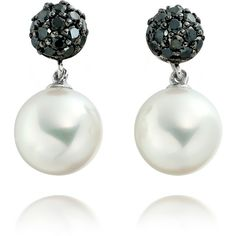 Astley Clarke Couture Pompom Earrings ($1,420) ❤ liked on Polyvore