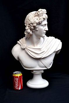 Buy Marble from one of the UK's premier furniture dealers. Discover the Stunning Marble Bust of Greek God Apollo at Regent Antiques. 04049 at. Artificial Marble, Ancient Greek Sculpture, Marble Bust, Skull Pictures, Gypsum, Greek Gods, Art Portfolio, Greek Mythology, Sculptures