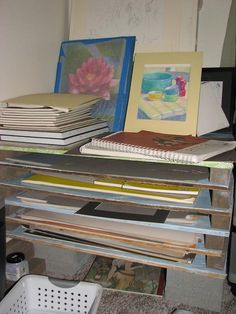 My homemade super cheap flat file - WetCanvas & Build your own flat file (on an unrelated note : dear god I love ...