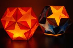How To: Paper Star Lantern