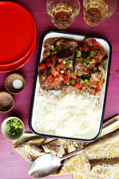 Save the recipe! Best Dishes, Main Dishes, Canning Diced Tomatoes, Short Ribs, Recipe Of The Day, Crockpot Recipes, Beef, Stuffed Peppers, Cooking