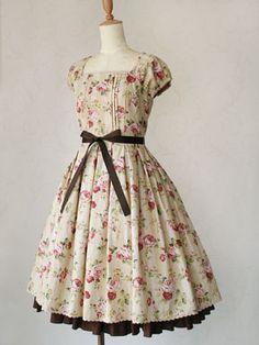 Beautiful. for little or big girls. #dress