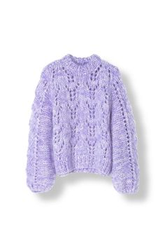 The Julliard Mohair Pullover, Pastel Lilac