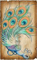 peacock design by BenjiRox