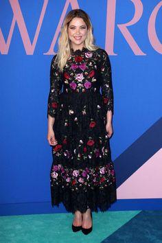 Ashley Benson at the 2017 CFDA Fashion Awards in New York