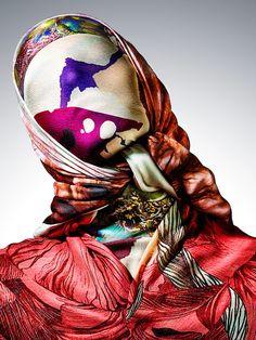 #Still #life #photographer www.IanOliverWalsh.com #Product #fashion #scarf #silk #portrait #shawl #mask #pattern #ruffle #drape #luxury #designer #accessories #skull #mask