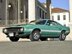 1969 Shelby GT500 ford mustang classic muscle bn