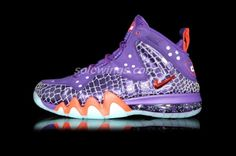 Nike Barkley Posite Max Phoenix Suns Nike Basketball Shoes 3d7efeed8a