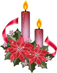 "Photo from album ""Lacarolita_Christmas Cheer"" on Yandex. Purple Christmas, Christmas Flowers, Christmas Candles, Christmas Art, Vintage Christmas, Christmas Holidays, Christmas Decorations, Christmas Clipart, Christmas Printables"