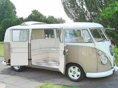 VW split screen wedding campervan Silk and Satin weddings Northampton