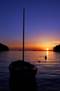 Sunset at Cavtat - Hrvatska, Croatia