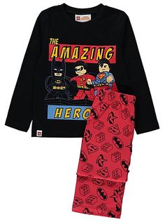 Lego Super Heroes DC Comics Pyjamas, read reviews and buy online at George at ASDA. Shop from our latest range in Kids. Your little superhero will be racing ...