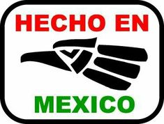 hecho en mexico #artesaniasmexicanasdiy Mexican Crafts, Mexican Art, Mexican Words, Mexico Tattoo, Chicano Lettering, Mechanic Tattoo, Mexican Shirts, Mexico Flag, Talavera Pottery