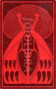 Art Nouveau book design by Talwin Morris (An original highly-stylized Art Nouveau design for a book binding, by leading Glasgow School...)