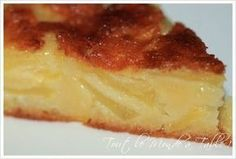 Fondant aux pommes - Tout le monde à table ! Apple Desserts, Köstliche Desserts, Apple Recipes, Sweet Recipes, Cookie Recipes, Delicious Desserts, Dessert Recipes, Yummy Food, Appetizer Recipes