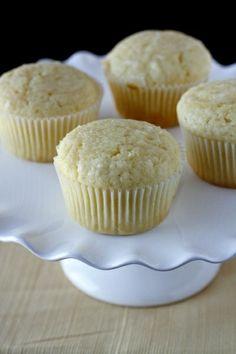Glazed Lemon Muffins