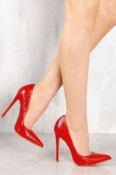 Lola Shoetique - Bite Me - Red Snake, $31.99 (https://www.lolashoetique.com/bite-me-red-snake/)