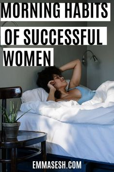 Successful people keep certain habits in the morning to maintain their lives, when you practice them daily in the morning, you're more likely to succeed in your life Habits Of Successful People, Successful Women, Unhealthy Diet, Daily Goals, Lack Of Energy, Morning Habits, Release Stress, Take A Shower, How To Wake Up Early