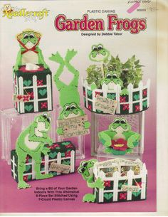 Garden Frogs 1/10
