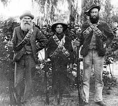 Anglo Boer War -  Notes from Errol Lincoln Uys's interview with his mother, Joey Uys