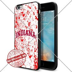 WADE CASE Indiana Hoosiers Logo NCAA Cool Apple iPhone6 6S Case #1198 Black Smartphone Case Cover Collector TPU Rubber [Blood] WADE CASE http://www.amazon.com/dp/B017J7PV8W/ref=cm_sw_r_pi_dp_E2Evwb04H4VB9