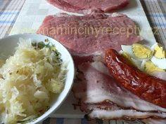 Čertův měšec – Maminčiny recepty Sausage, Pork, Meat, Kale Stir Fry, Pigs, Sausages