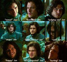 Game of Thrones funny Jon meme