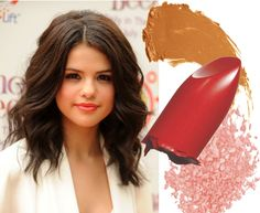 A natural looking makeup is perfect for brown eyes as the makeup will allow the eyes to stand out naturally without the makeup being too obvious. Enhance your lips with a lip colored lipstick just like Selena Gomez and you will radiate natural beauty
