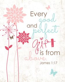 James 1:17 | Scripture | Pinterest | Scriptures