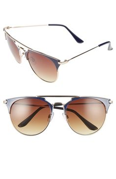 054b29be82b2 Quay Australia  Muse  65mm Mirrored Aviator Sunglasses