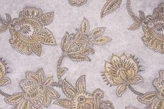 Richloom Tazzoni Printed Cotton Drapery Fabric in Metal$8.95 per yard