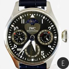 Being individual. IWC recently opened a new boutique in Mayfair, London and marked the occasion with the release of a new limited edition watch based on the IWC Big Pilot's Watch Perpetual Calendar. Angus Davies reviews the rare limited series of 38 pieces.