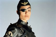 Angelina Jolie as Frankie in Sky Captain and the World of Tomorrow.