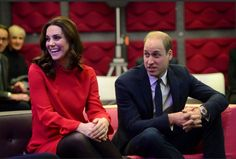William and Kate at the Childrens Global media summit  Manchester..